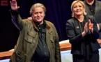 Marine Le Pen peut être élue comme Trump, dit Steve Bannon