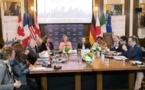 Réunion du G7 sur fond de confrontation avec Moscou, Téhéran et Pyongyang