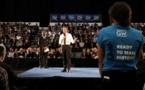 Emmanuel Macron répond du tac au tac aux étudiants américains