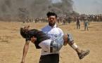 Gaza: trois Palestiniens blessés par des tirs de soldats israéliens succombent