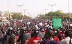 Manifestation estudiantine à Dakar: Impressionnante! (Photo)