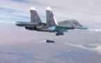 L'aviation russe bombarde des zones rebelles dans le sud de la Syrie