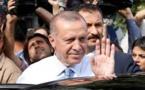Les premiers résultats en Turquie placent Erdogan largement devant