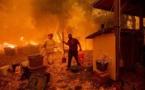 Californie: L'incendie de Mendocino poursuit sa progression