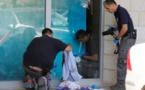 Des enquêteurs palestiniens sur les lieux de l'attaque contre un Israélien en Cisjordanie.