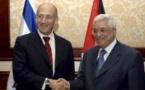 Israël/Palestiniens: le président Abbas seul capable de faire la paix (Olmert)