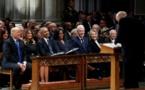 L'Amérique unie le temps d'un adieu solennel au président Bush père