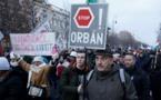 Des milliers de Hongrois protestent contre le gouvernement Orban