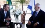 Bolsonaro voit Netanyahu, ne dit rien sur l'ambassade du Brésil