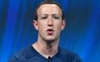 """Zuckerberg """"fier des progrès réalisés"""" après une annus horribilis"""