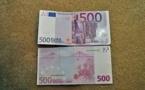 Zone euro : les dernières heures du billet de 500 euros