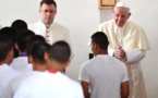 """Le pape s'en prend à la stigmatisation """"insensée et irresponsable"""" des migrants"""