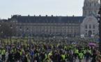Les «gilets jaunes» se mobilisent à Paris pour les trois mois du mouvement