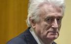Radovan Karadzic écope d'une peine plus lourde en appel, la prison à vie