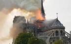 L'incendie à Notre Dame de Paris