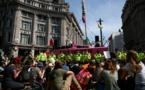 """Climat: """"Sommes-nous la dernière génération ?"""", demandent de jeunes Londoniens"""