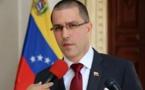 Le chef de la diplomatie vénézuélienne sanctionné par Washington, Moscou proteste