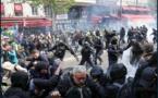 """La CGT dénonce une """"répression inouïe"""" lors de son défilé à Paris"""