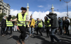"""""""Gilets jaunes"""" : 15 500 manifestants en France dont 1 600 à Paris, la plus faible mobilisation depuis le début du mouvement"""