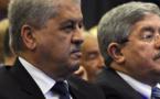 Abdelmalek Sellah (à g.à et Ahmed Ouyahia