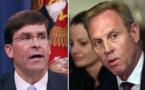 Trump remplace Shanahan par Esper au Pentagone