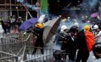 Nouveaux heurts entre police et manifestants à Hong Kong