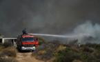 L'île grecque d'Eubée en proie à un incendie, habitants évacués