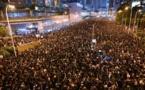 Une nouvelle marée humaine déferle sur Hong Kong