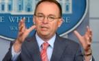 Aide à l'Ukraine et politique US étaient liées, reconnaît le chef de cabinet de Trump