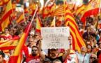 Rassemblement contre l'indépendance à Barcelone