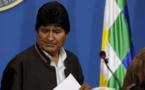 Moscou dénonce le départ de Morales