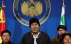 Le Mexique accorde l'asile à Evo Morales