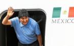 Morales est au Mexique, l'exile commence