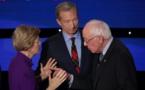 Virulent échange entre Sanders et Warren à l'issue du débat de mardi