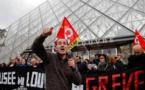 Réforme des retraites: le Louvre fermé, bloqué par l'intersyndicale du musée (direction)