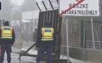 Des migrants essuient des coups de feu en tentant d'entrer en Hongrie