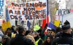 FRANCE : des dizaines de milliers d'opposants à la réforme des retraites ont manifesté