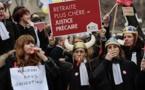 Retraites: les avocats votent la poursuite de leur mouvement