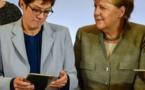 ALLEMAGNE: la dauphine désignée de Merkel jette l'éponge