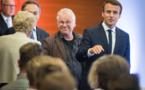 Rencontre inédite entre Macron et les Verts allemands