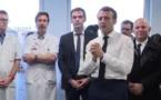 Macron visite l'hôpital où est décédé le premier Français victime du coronavirus
