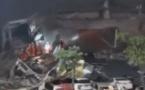 Un hôtel s'effondre, 70 personnes sous les décombres
