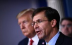 Coronavirus: le chef du Pentagone défend le limogeage du commandant d'un porte-avions