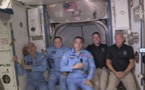 Les premiers astronautes transportés par SpaceX sont arrivés à bord de l'ISS