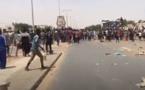 Violentes manifestations à Touba contre le couvre-feu (Image Leral.net)