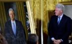 Les portraits de Clinton et Bush bougés à la Maison-Blanche