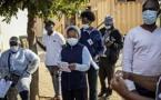 Covid: plus de 500'000 cas en Afrique du Sud