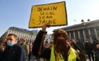 France: Journée test avec la manifestation des Gilets jaunes