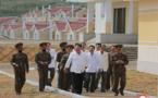 « Réponse au Ciel - la commune réhabilitée après les grandes pluies en Corée du Nord »