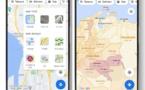 Google Maps cartographie les zones de cas de Covid-19